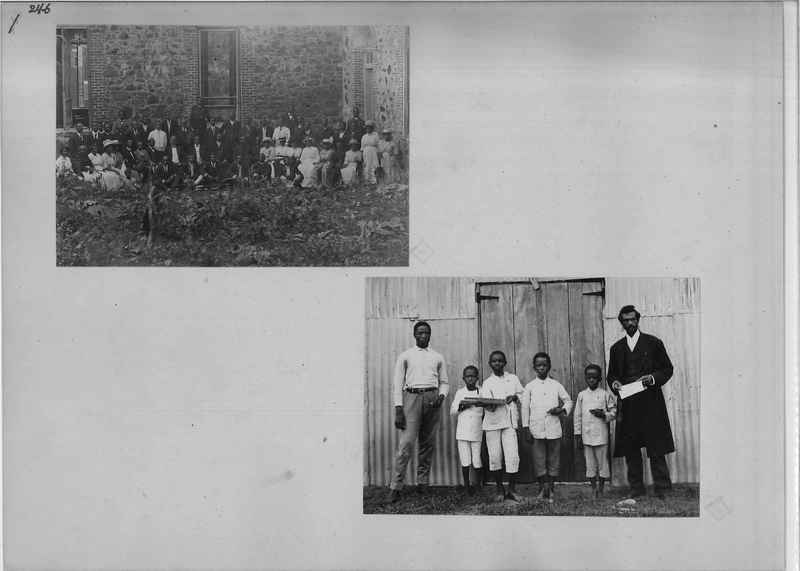 Mission Photograph Album - Africa - Madeira O.P. #1 page 0246