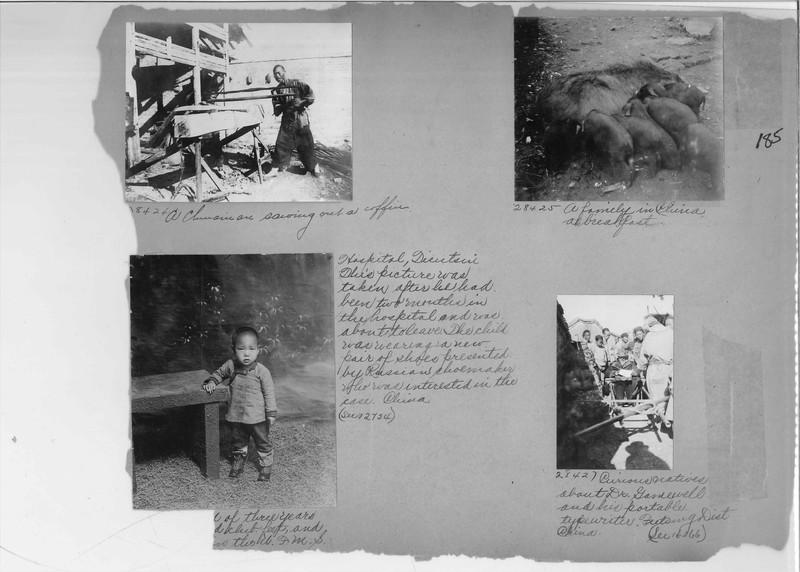 Mission Photograph Album - China #7 page 0185