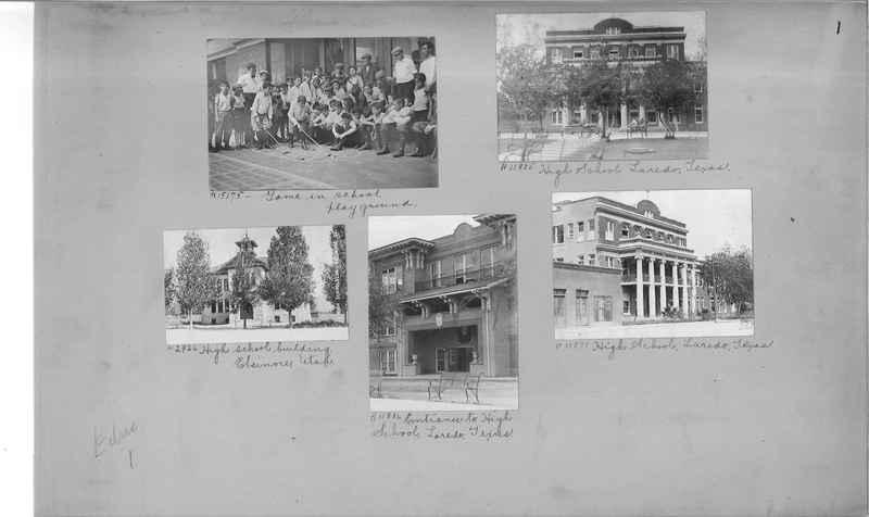 Mission Photograph Album - Education #1 page 0001