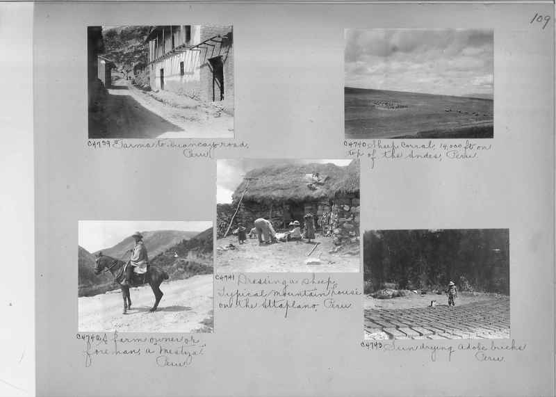 Misson Photograph Album - South America #8 page 0109