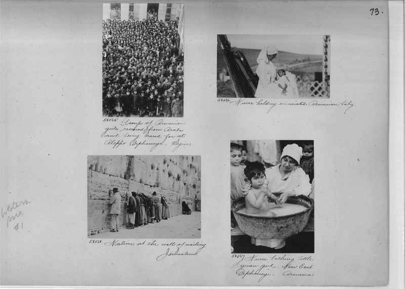 Mission Photograph Album - Western Asia - #01 page_0073