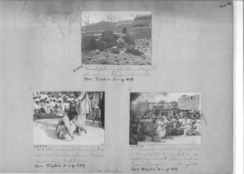 Mission Photograph Album - India - O.P. #01 Page 0085