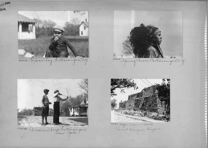 Mission Photograph Album - Indians #2 page_0202