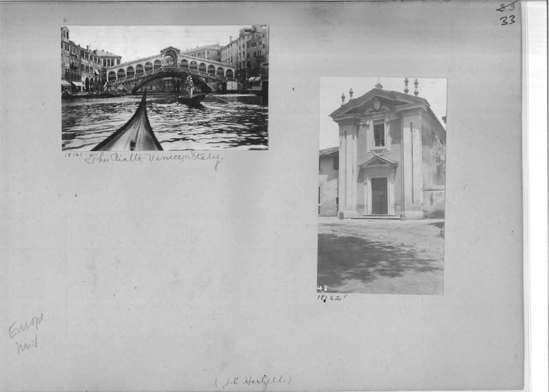 Mission Photograph Album - Europe #01 Page 0033