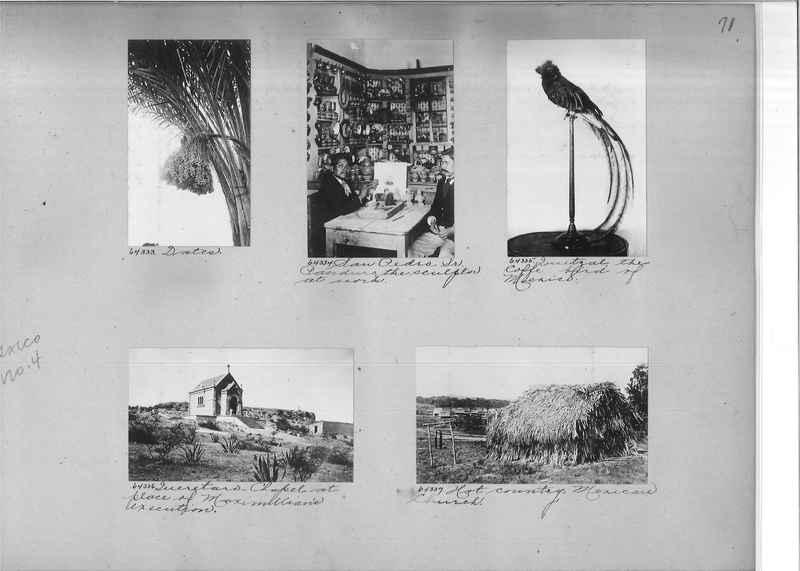 Mission Photograph Album - Mexico #04 page 0071