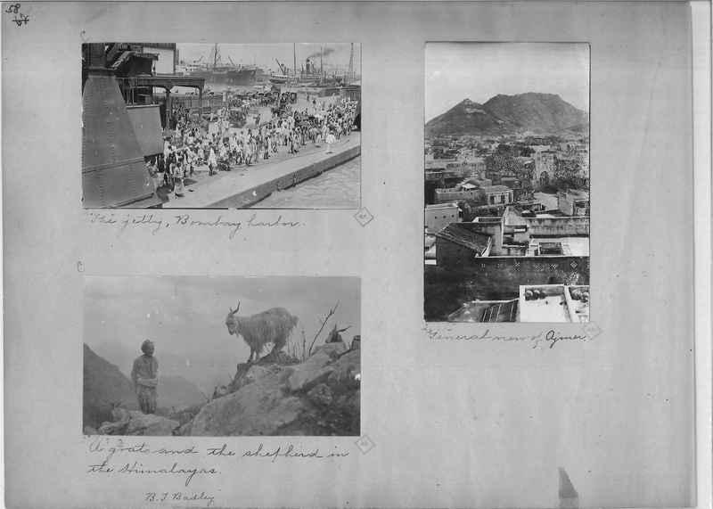 Mission Photograph Album - India - O.P. #01 Page 0058