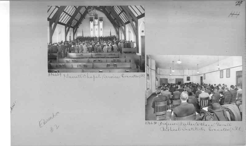 Mission Photograph Album - Education #2 page 0125