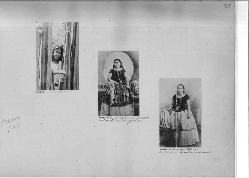Mission Photograph Album - Mexico #04 page 0083