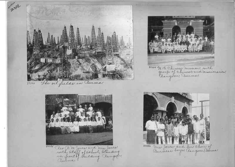 Mission Photograph Album - Burma #1 page 0242