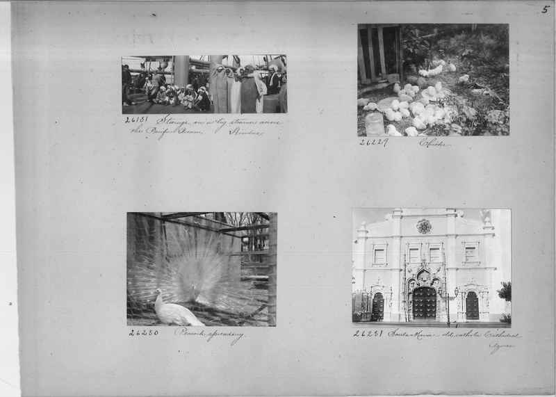 Mission Photograph Album - Miscellaneous #02 Page 0005