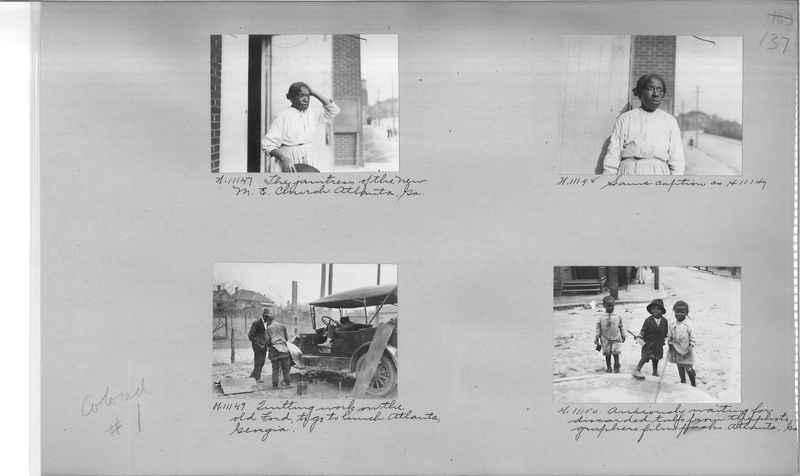Mission Photograph Album - Negro #1 page 0137