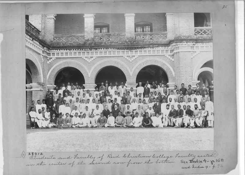 Mission Photograph Album - India - O.P. #01 Page 0025