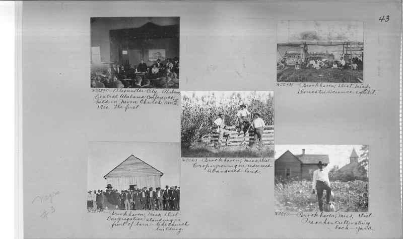 Mission Photograph Album - Negro #3 page 0043