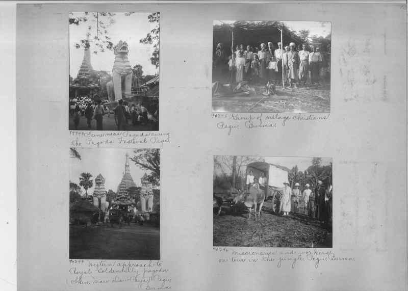 Mission Photograph Album - Burma #2 page 0013