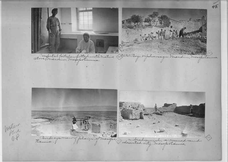 Mission Photograph Album - Western Asia - O.P. - #01 page_0045