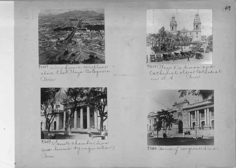 Misson Photograph Album - South America #8 page 0049