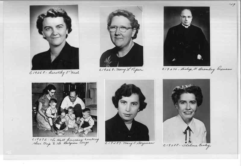 Mission Photograph Album - Portraits #08 Page 0129