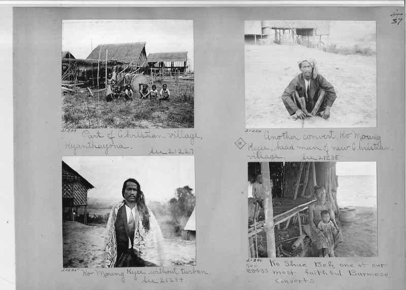 Mission Photograph Album - Burma #1 page 0037