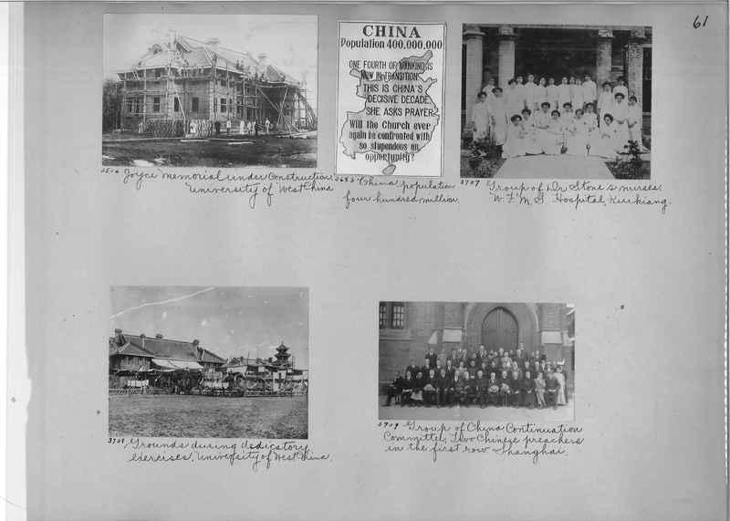 Mission Photograph Album - China #2 page  0061