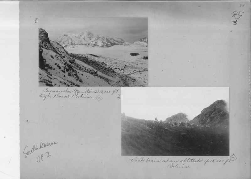 Mission Photograph Album - South America O.P. #2 page 0075