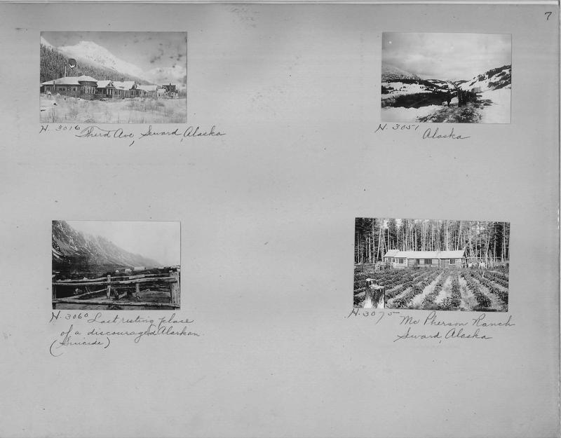 Mission Photograph Album - Alaska #1 page 0007