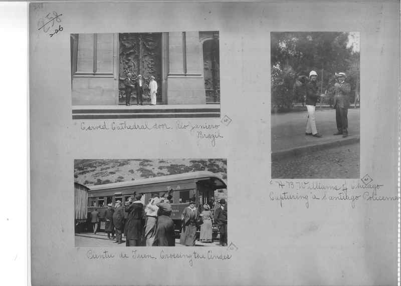 Mission Photograph Album - South America O.P. #2 page 0226