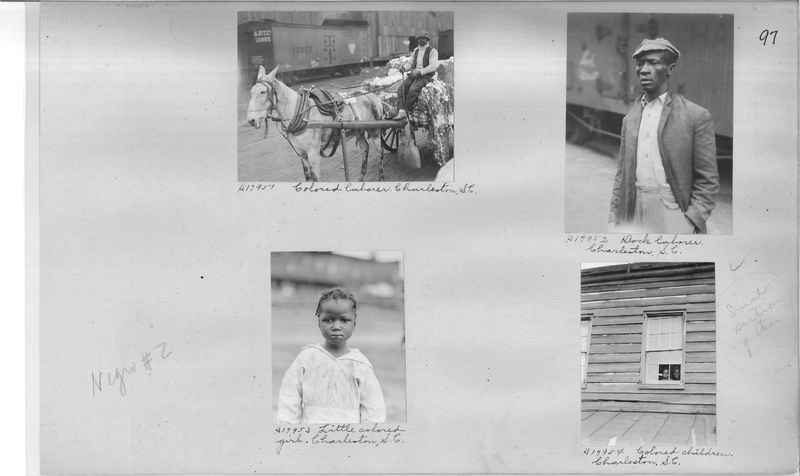 Mission Photograph Album - Negro #2 page 0097