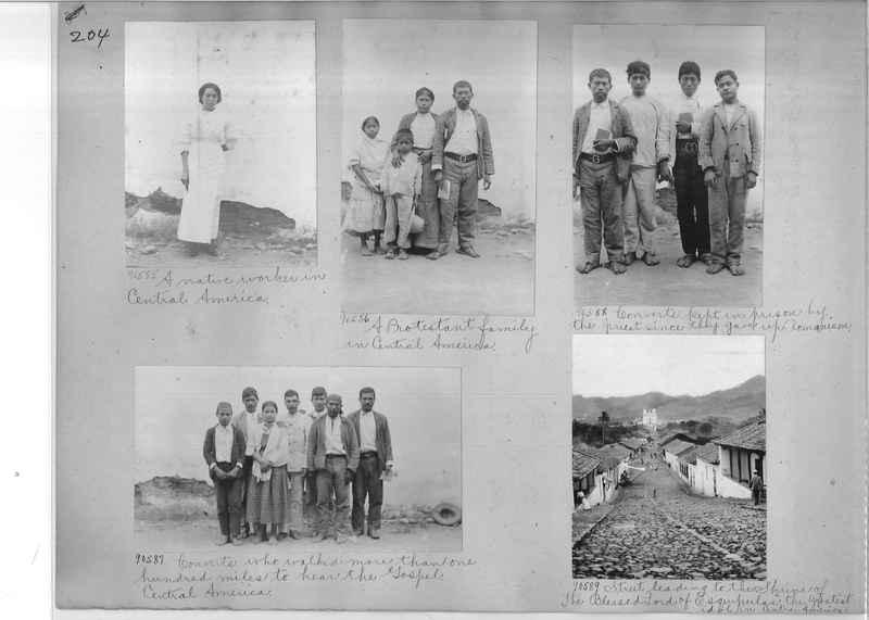Mission Photograph Album - Panama #04 page 0204