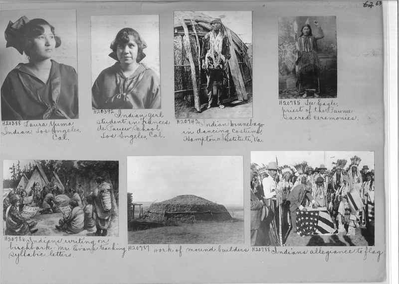 Mission Photograph Album - Indians #2 page_0063
