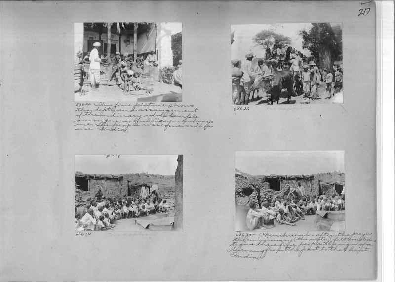 Mission Photograph Album - India #08 Page 0217