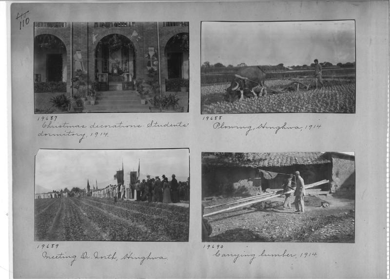 Mission Photograph Album - China #6 page 0110