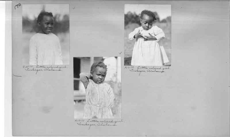 Mission Photograph Album - Negro #2 page 0170