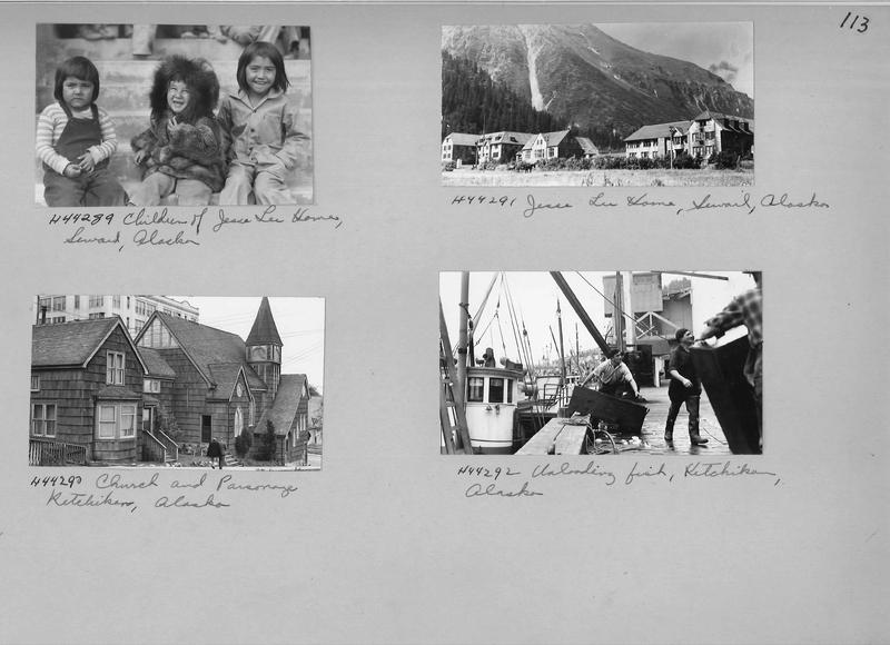 Mission Photograph Album - Alaska #1 page 0113