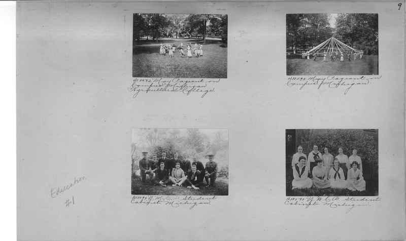 Mission Photograph Album - Education #1 page 0009