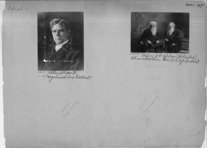Mission Photograph Album - Portraits #2 page 0047