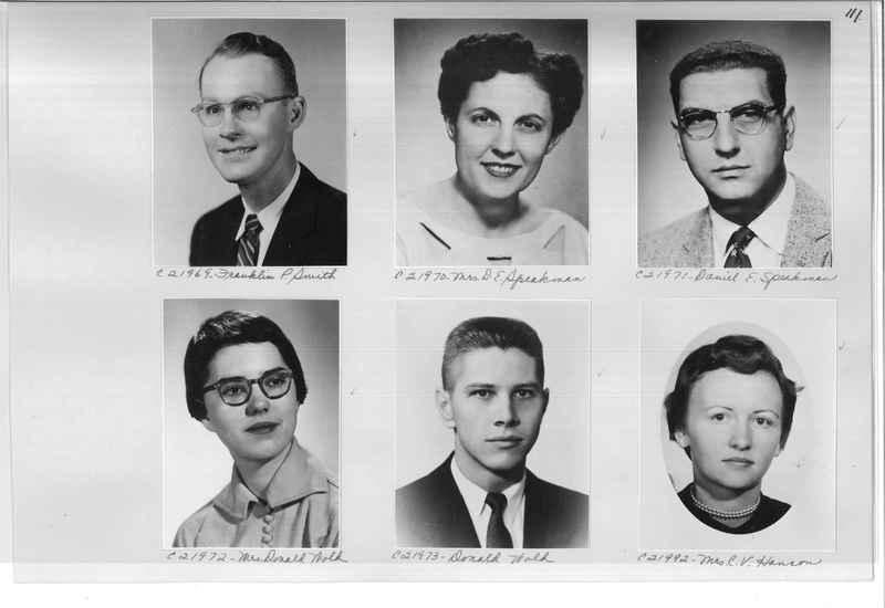 Mission Photograph Album - Portraits #10 Page 0111