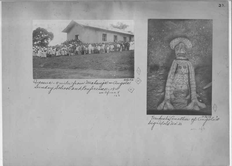 Mission Photograph Album - Africa - Madeira O.P. #2 page 0023