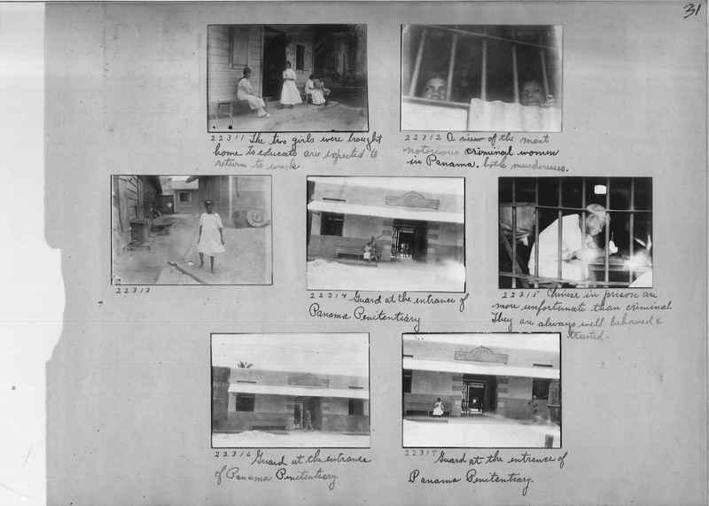 Mission Photograph Album - Panama #02 page 0031