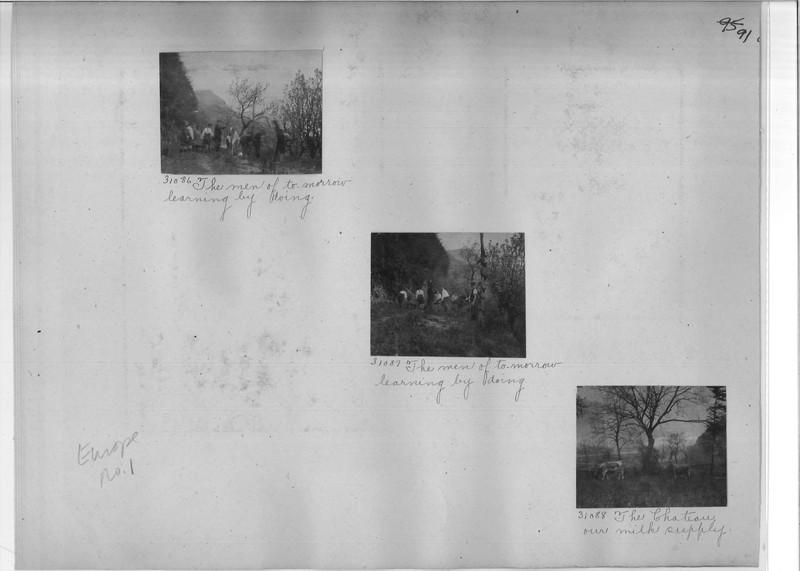 Mission Photograph Album - Europe #01 Page 0091