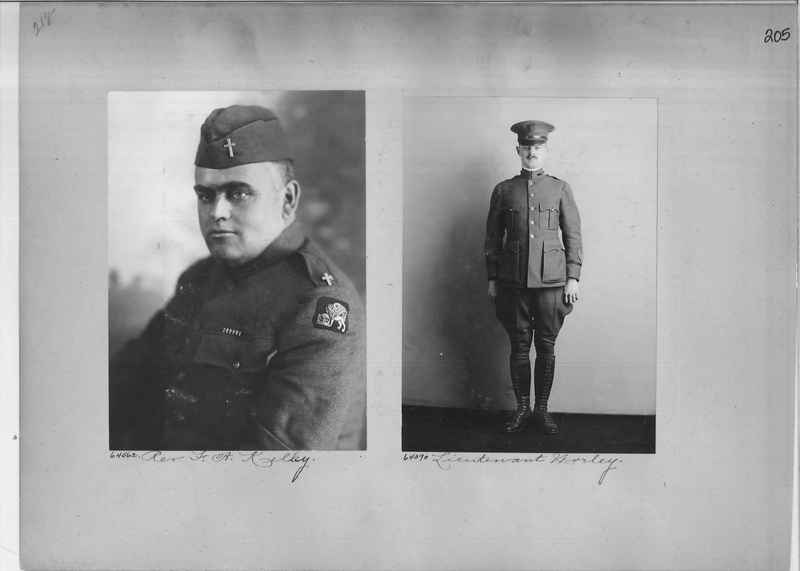 Mission Photograph Album - Portraits #2 page 0205