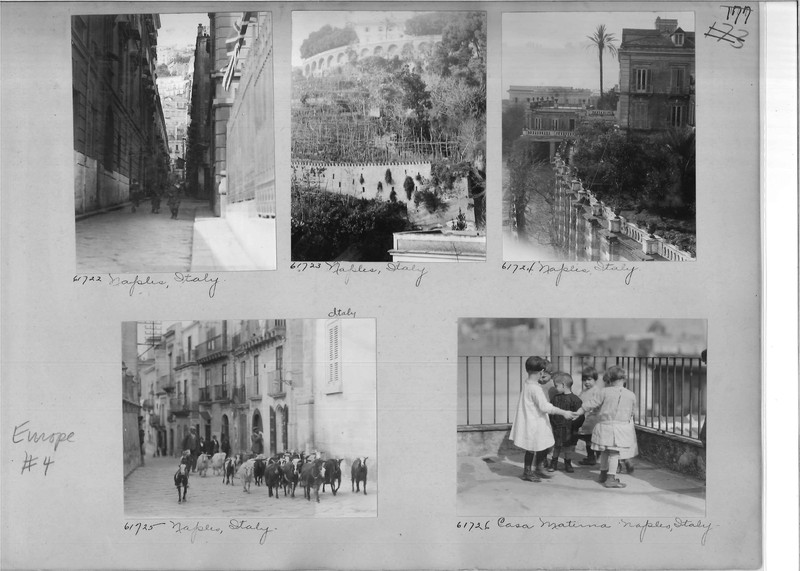 Mission Photograph Album - Europe #04 Page 0177