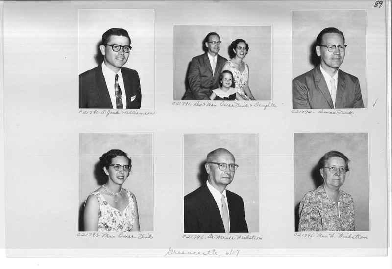 Mission Photograph Album - Portraits #10 Page 0089