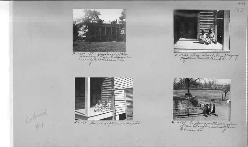 Mission Photograph Album - Negro #1 page 0165