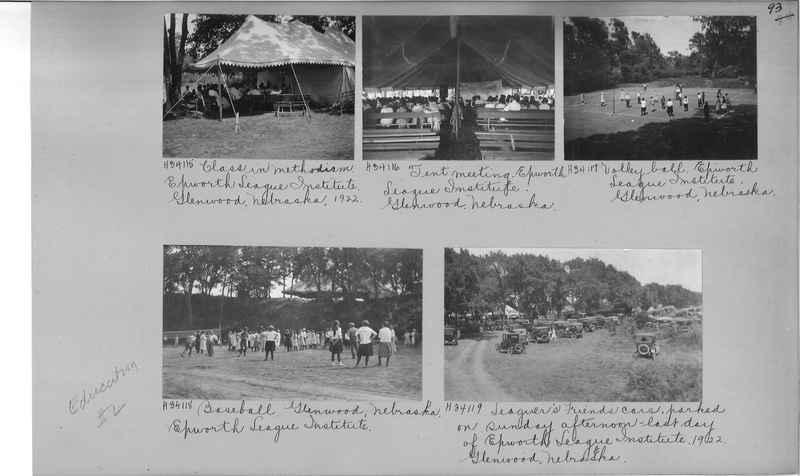 Mission Photograph Album - Education #2 page 0093