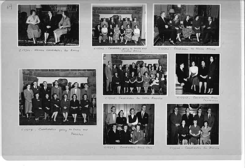 Mission Photograph Album - Portraits #13 Page 0054