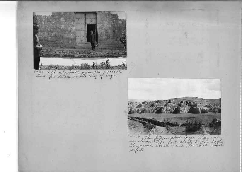 Mission Photograph Album - South America O.P. #3 page 0008