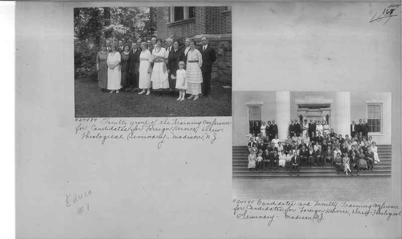 Mission Photograph Album - Education #1 page 0169