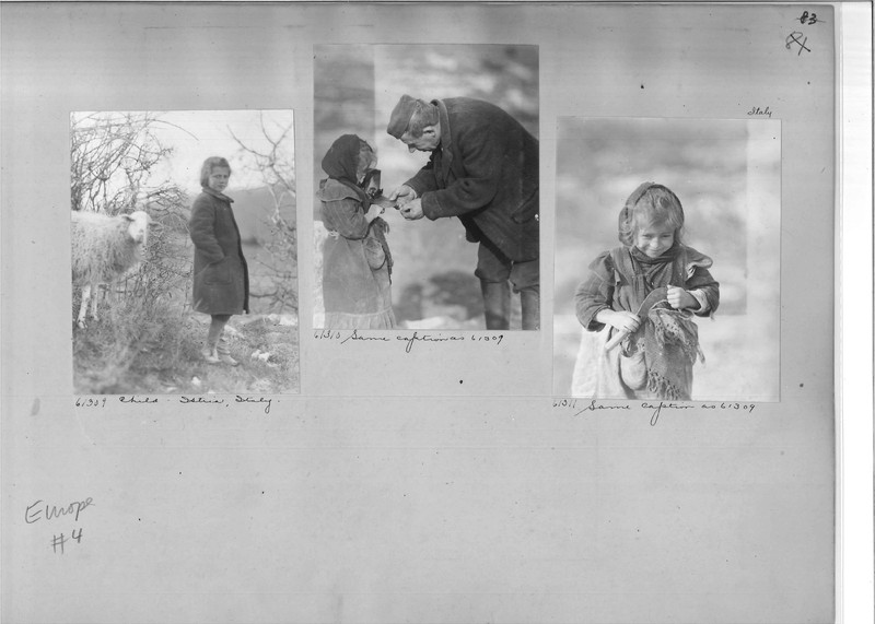 Mission Photograph Album - Europe #04 Page 0083