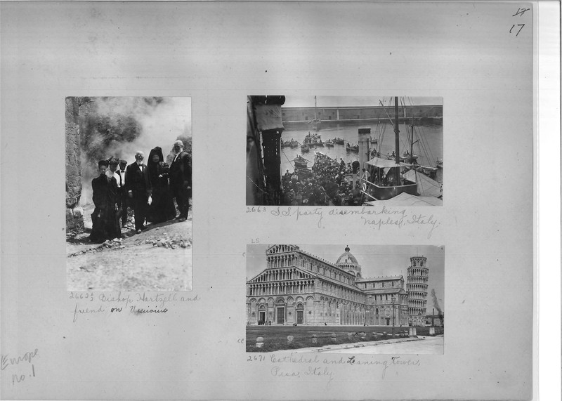 Mission Photograph Album - Europe #01 Page 0017