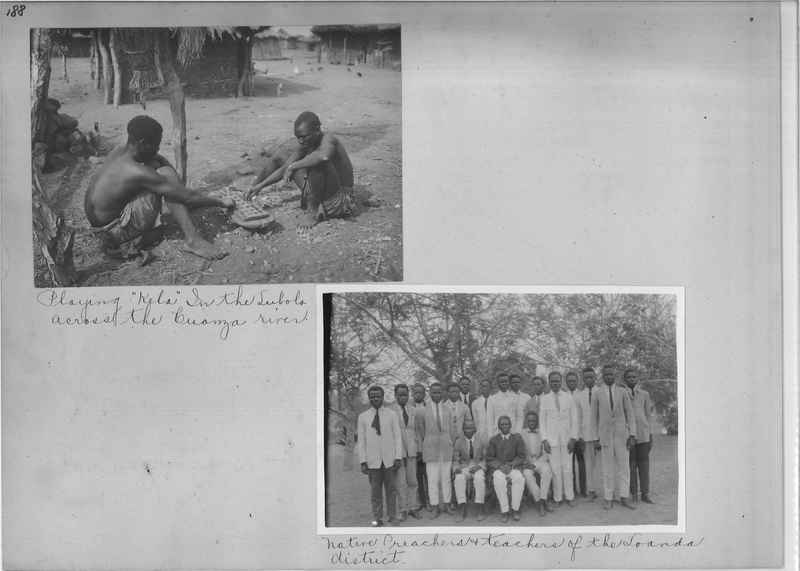 Mission Photograph Album - Africa O.P. #4 page 0188